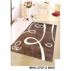 Covor vechi - Covor lana MHC-2727-2 BROWN - 70 x 140 cm