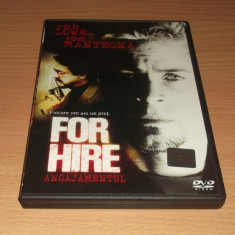 For Hire - Film thriller, DVD, Romana