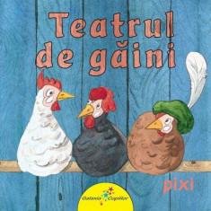 Harta Romaniei - Teatrul de găini