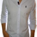 Camasa Polo by Ralph Lauren - camasa alb cu buline dif culori LICHIDARE STOC