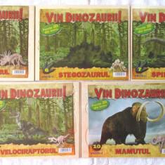 Puzzle 3D din lemn Seria VIN DINOZAURII!, col. ADEVARUL numerele 1, 6, 7, 8, 10