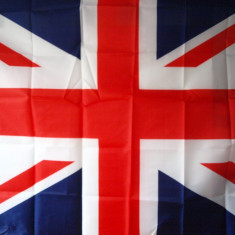 Steag ANGLIA tricolor MAREA BRITANIE Poza Reala UNITED KING ro36 - Set echipament fotbal, Marime: Marime universala