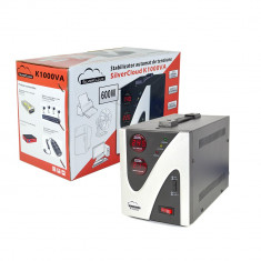 Resigilat - Stabilizator de tensiune SilverCloud 1000VA 600W - UPS
