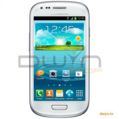 Telefon mobil Samsung Galaxy S3 Mini - Samsung Telefon mobil Samsung i8200 Galaxy S3 Mini 8GB Ceramic White Value Edition