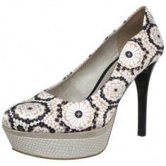 GDY109 Pantofi cu toc si model vintage - Pantofi dama Tamaris, 37