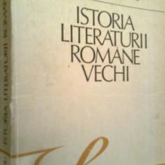 Istoria Literaturii Romane Vechi - STEFAN CIOBANU (1989) - Istorie