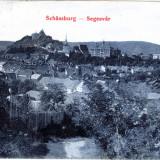 Carte Postala, Circulata, Printata - Sighisoara -vedere 1905