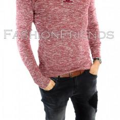 Bluza tip ZARA fashion grena - bluza barbati - cod produs: 5668
