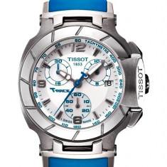 Ceas de Dama tissot, Lux - sport, Quartz, Inox, Diametru carcasa: 36, Cauciuc - Ceas Tissot T-SPORT T048.217.17.017.02 T-Race Lady Blue