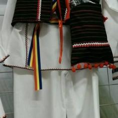 Costum popular baieti 152-164 cm 100% bumbac - Costum populare, Marime universala, Negru