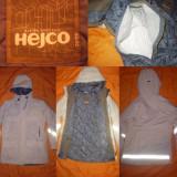 Geaca Parca HEJCO dama groasa impermeabila cusaturi lipite geaca jacheta iarna