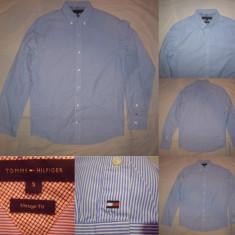 Camasa barbati - Camasa TOMMY HILFIGER (S) maneca lunga Bluza Cardigan Pulovar Barbati