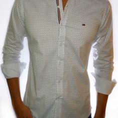 Camasa barbati - Camasa Tommy Hilfiger alba model - camasa alba - CALITATE SUPERIOARA