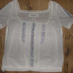 Bluza dama Abercrombie & Fitch, Maneca scurta, Universala, Bumbac - SUPER PRET! Superba bluza/ie Abercrombie & Fitch originala, bumabc fin, Sz S