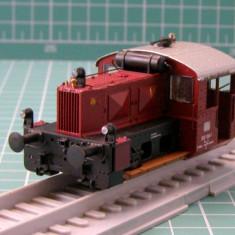 Macheta Feroviara, 1:87, HO, Locomotive - Locomotiva diesel BR322 marca Brawa scara HO(3447)