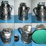 BRICHETE VINTAGE DE BIROU-MASA NR4. Bricheta de birou metal Cavaler Medieval