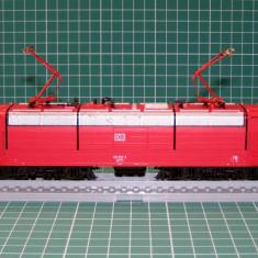 Macheta Feroviara, 1:87, HO, Locomotive - Locomotiva electrica BR181 marca Roco scara HO(3617)