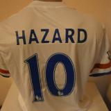 Set echipament fotbal - TRICOU CHELSEA HAZARD SEZON 2015-2016 MARIMI M SI L