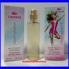 TESTER FIOLA DAMA LACOSTE TOUCH OF PINK 40ML - Parfum femeie