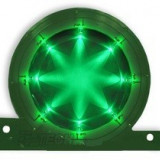 Logo Led lumina verde XBOX 1073
