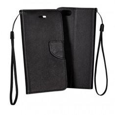 Husa HUAWEI Honor 4C Flip Case Inchidere Magnetica Black - Husa Telefon Huawei, Negru, Piele Ecologica, Cu clapeta, Toc
