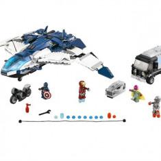 Urmarire In Oras Cu Quinjetul Razbunatorilor (76032) - LEGO Super Heroes