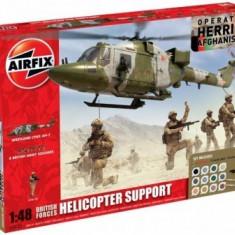 Kit Constructie Set Afganistan Elicopter Lynx - Jocuri Seturi constructie Airfix
