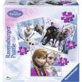 Puzzle Frozen Anna, Elsa Si Prietenii, 25/36/49P