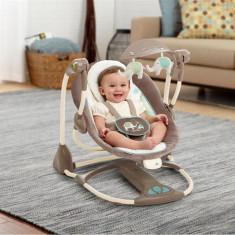 Set mobila copii Bright Starts - Ingenuity 60100 – Leagan Si Balansoar Transformabil 2 In 1 – Sahara