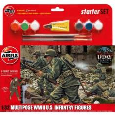 Kit Constructie Infanterie Americana - Jocuri Seturi constructie Airfix