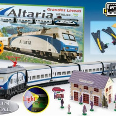 Trenulet Electric Calatori Altaria - Trenulet de jucarie Pequetren