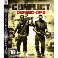 Conflict Denied Ops Ps3 - Jocuri PS3 Eidos