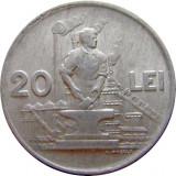 ROMANIA, 20 LEI 1951 (2) - Moneda Romania, Aluminiu