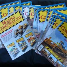 Lot machete de colectie, plus reviste : Masini de constructie Nr 1 la 20 (1:64) - Macheta auto