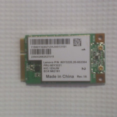 Placa Wifi wireless Laptop Lenovo Ideapad S12 60Y3220 20-002304