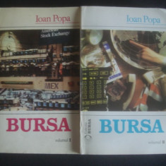 Carte afaceri - IOAN POPA - BURSA 2 volume