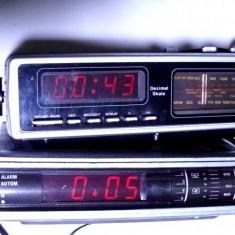 Aparat radio - Lot 2 radio cu ceas vechi grundig si ultasound