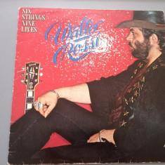 Muzica Rock emi records, VINIL - WALTER ROSSI - SIX STRINGS NINE LIVES (1978 /EMI REC /RFG )- DISC VINIL/VINYL