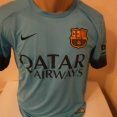 Tricou echipa fotbal, De club, Barcelona, Maneca scurta - TRICOU MESSI F.C.BARCELONA 2015-2016 MARIMI M SI L