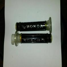 Mansoane Moto Honda Negru/Rosu/Albastru