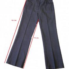 Pantaloni dama, Lungi - Pantalon Stofa Office Business Dama - Philip Russel, marime XS|S|36