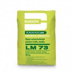 Sapa autonivelanta Duraziv cu Kauciuc LM 73 - 25 kg - Ciment