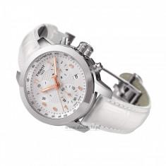 Ceas de Dama tissot, Fashion, Quartz, Inox, Diametru carcasa: 35, Piele - Ceas Tissot PRC 200 Lady Chronograph