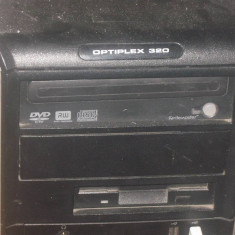 Vand PC complet - Sisteme desktop cu monitor Dell, Intel Pentium 4, Peste 3000 Mhz, 1 GB, 100-199 GB, HP