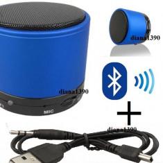 Boxe Telefon, Conectivitate bluetooth - Boxa BLUETOOTH portabila MP3 PLAYER Bass
