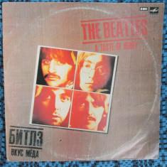 THE BEATLES - A TASTE OF HONEY (1 disc VINIL - eticheta rosie - CA NOU!) - Muzica Rock
