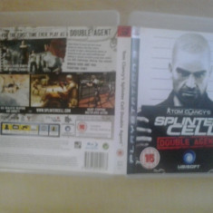 Jocuri PS3, Actiune, 16+, Single player - Tom Clancy's Splinter Cell - Double agent - Joc PS3 ( GameLand )