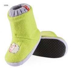 Papuci copii - Papuci de casa - art 3430b - verde