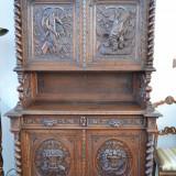 Mobilier - Credent Vanatoare Louis XIII 01309