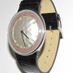 Ceas TAG Heuer Gulf Cup (cadranul de forma unei mingi de golf + curea piele) - Ceas barbatesc, Sport, Quartz